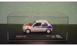 Peugeot 106 1996, масштабная модель, Altaya Rally, 1:43, 1/43