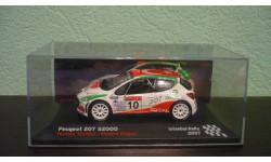 Peugeot 207 S2000  2007, масштабная модель, Altaya Rally, scale0