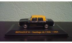 Renault 8 'Santiago de Chile'  1965, масштабная модель, Altaya, 1:43, 1/43