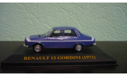 Renault 12 Gordini 1972, масштабная модель, Altaya, scale43