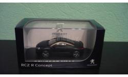 Peugeot RCZ Concept 2012, масштабная модель, Norev, 1:43, 1/43