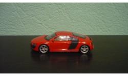 Audi R8, масштабная модель, Welly, scale43