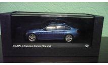 BMW 4 Series Gran Coupe  (F36), масштабная модель, Kyosho, scale43