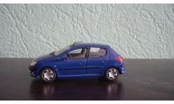 Peugeot 206 Ранняя Cararama. Двери открываются., масштабная модель, Bauer/Cararama/Hongwell, 1:43, 1/43