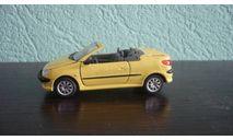 Peugeot 206 Cabriolet. Ранняя Cararama. Двери открываются., масштабная модель, Bauer/Cararama/Hongwell, 1:43, 1/43