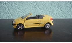 Peugeot 206 Cabriolet. Ранняя Cararama. Двери открываются., масштабная модель, Bauer/Cararama/Hongwell, scale43