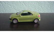 Peugeot 206 CC, масштабная модель, Bauer/Cararama/Hongwell, scale43