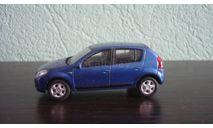 Renault Sandero, масштабная модель, Keng Fai Toys, scale43