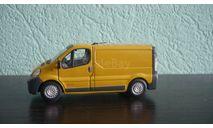Renault Trafic. Ранняя Cararama. Двери открываются., масштабная модель, Bauer/Cararama/Hongwell, 1:43, 1/43