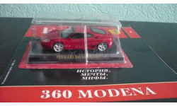 Ferrari Collection №1  Ferrari 360 Modena, журнальная серия Ferrari Collection (GeFabbri), Ferrari Collection (Ge Fabbri), scale43