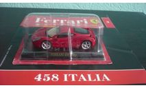 Ferrari Collection №3 Ferrari 458 Italia, журнальная серия Ferrari Collection (GeFabbri), Ferrari Collection (Ge Fabbri), 1:43, 1/43