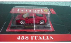 Ferrari Collection №3 Ferrari 458 Italia, журнальная серия Ferrari Collection (GeFabbri), scale43