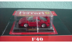 Ferrari Collection №5 Ferrari F40, журнальная серия Ferrari Collection (GeFabbri), Ferrari Collection (Ge Fabbri), 1:43, 1/43