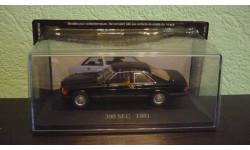 Mercedes 500 SEC (C126), масштабная модель, Mercedes-Benz, Altaya, 1:43, 1/43