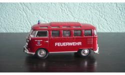 Volkswagen Transporter T1 Feuerwehr 1962, масштабная модель, Signature, scale43