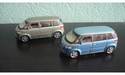 Volkswagen Microbus 2001, масштабная модель, Bauer/Cararama/Hongwell, 1:43, 1/43