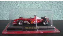 Ferrari F2002 Michael Schumacher, масштабная модель, Altaya, scale43