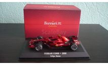Ferrari F2008 Felipe Massa, масштабная модель, Atlas, scale43
