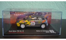 Seat Ibiza TDI 2003, масштабная модель, Altaya Rally, 1:43, 1/43