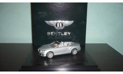 Bentley Continenal GTC Next Generation, масштабная модель, Minichamps, 1:43, 1/43