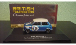 Austin Mini Cooper S  Rally  BTCC champion 1969, масштабная модель, Atlas, 1:43, 1/43