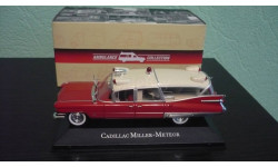 Cadillac Miller Meteor Ambulance 1959, масштабная модель, Atlas, 1:43, 1/43