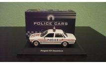 Peugeot 505 Polizei  1983, масштабная модель, Atlas, 1:43, 1/43