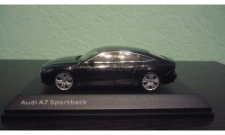Audi A7 Sportback 2019, масштабная модель, iScale, 1:43, 1/43