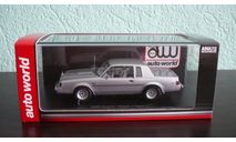 Buick Regal T-Type 1986, масштабная модель, ERTL (Auto World), 1:43, 1/43
