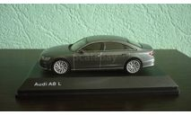 Audi A8 L (D5), масштабная модель, iScale, scale43