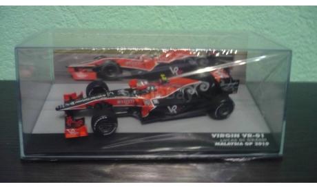 Virgin VR-01 Formula 1  2010 Lucas di Grassi, масштабная модель, Altaya, scale43