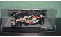 Honda RA106 Formula 1 2006 Rubens Barrichello, масштабная модель, Altaya, 1:43, 1/43