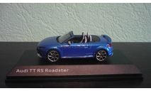 Audi TT RS Roadster, масштабная модель, iScale, scale43
