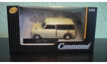 Mini Traveller Van, масштабная модель, Mini Cooper, Bauer/Cararama/Hongwell, 1:43, 1/43