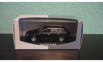 Audi A6 Avant (C6) black, масштабная модель, Minichamps, 1:43, 1/43
