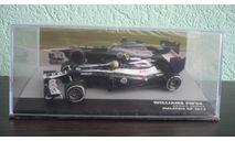 Williams FW34 #19 Malaysia GP formula 1 2012 Bruno Senna, масштабная модель, Altaya, 1:43, 1/43