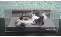 Brabham BT44B #8 Winner GP Brazil Formula 1 1975 Carlos Pace, масштабная модель, Altaya, scale43