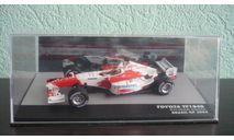 Toyota TF104B #17 Brazil GP formula 1 2004 Ricardo Zonta, масштабная модель, Altaya, scale43