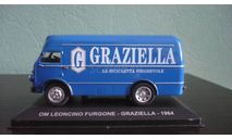OM Leoncino Furgone Graziella 1964, масштабная модель, Altaya, scale43