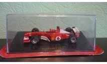 Ferrari F2002 Formula 1 Michael Schumacher, масштабная модель, Altaya, scale43