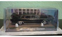 Lincoln  Continental 1964  'GOLDFINGER'  007 JAMES BOND, масштабная модель, The James Bond Car Collection (Автомобили Джеймса Бонда), 1:43, 1/43