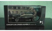 Citroen Numero 9 Concept 2012, масштабная модель, Citroën, Norev, 1:43, 1/43