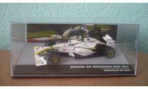 Brawn BGP 001 #23 Mercedes Australia GP formula 1 2009  Rubens Barrichello, масштабная модель, Altaya, scale43, Mercedes-Benz