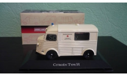 Citroen Type H Deutsches Rotes Kreuz 1965, масштабная модель, Atlas, scale43, Citroën