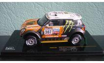 Mini All 4 Racing  #307  Rally Dakar 2013, масштабная модель, Mini Cooper, IXO Rally (серии RAC, RAM), 1:43, 1/43