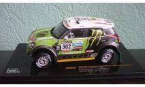 Mini All 4 Racing  #302  Rally Dakar  2013, масштабная модель, IXO Rally (серии RAC, RAM), scale43, Mini Cooper