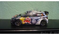 Volkswagen VW Polo R WRC #9 2015, масштабная модель, Spark, scale43