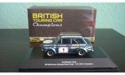 Sunbeam Imp #1 BTCC Champion 1972 Bill McGovern, масштабная модель, Atlas, scale43