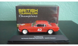 Ford Mustang #42 BTCC champion 1965 Roy Pierpoint, масштабная модель, Atlas, 1:43, 1/43