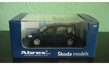 Skoda Roomster, масштабная модель, Abrex, scale43, Škoda